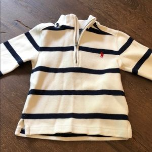 Polo quarter zip 2t sweater